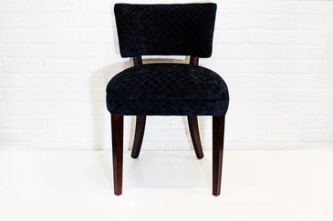 "SOLD - Set of Four ""Dunbaresque"" Dining Chairs, circa 1940s"