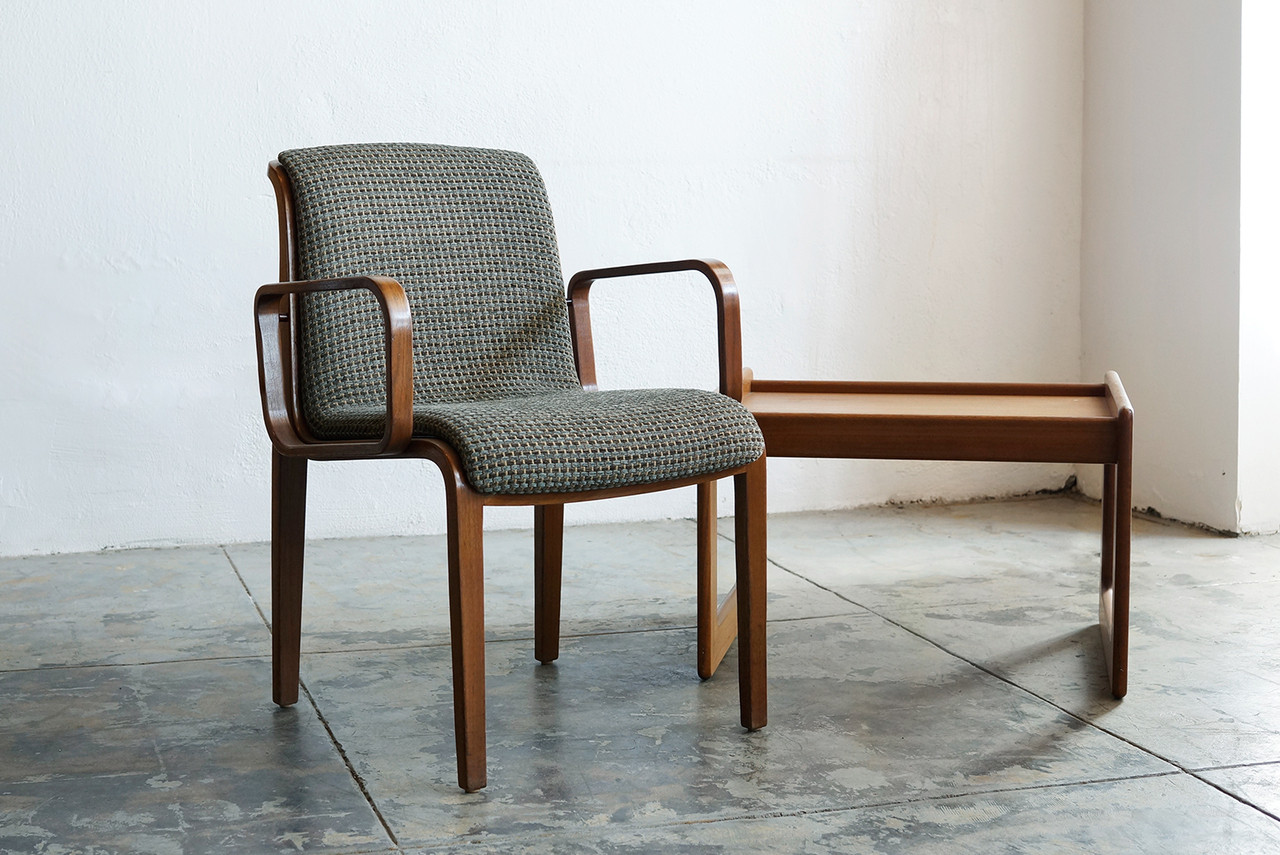 Wonderful SOLD   Knoll Arm Chair With Bent Wood Arms, Classic