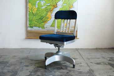 SOLD - 1960s Steno Chair by Horness, Refinished
