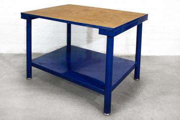 SOLD - Vintage Industrial Side Table