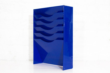 Electric Blue File Holder