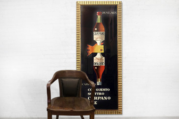 SOLD - Rare Armando Testa Carpano Vermouth Poster, 1953