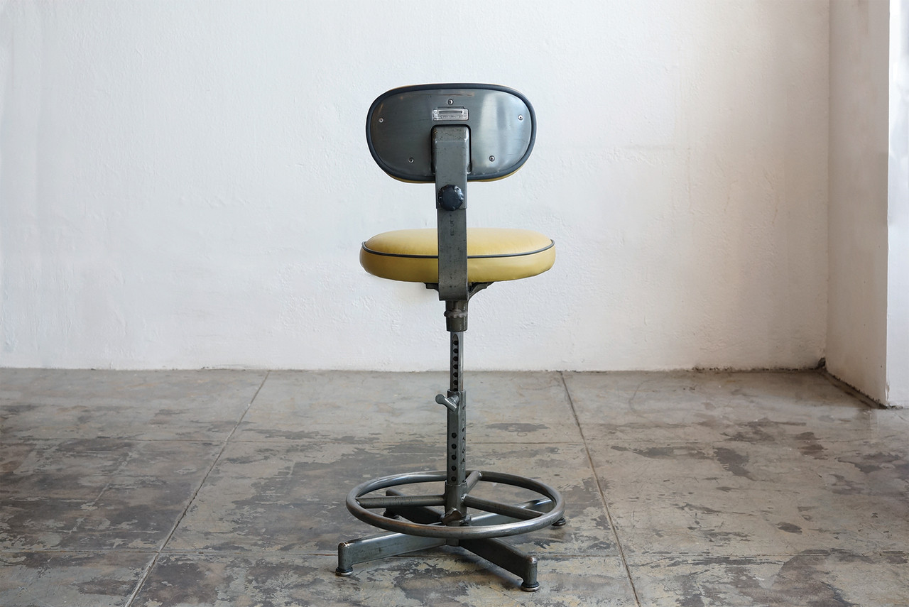 SOLD - Vintage Drafting Stool by Cramer Circa 1940s : industrial stool vintage - islam-shia.org