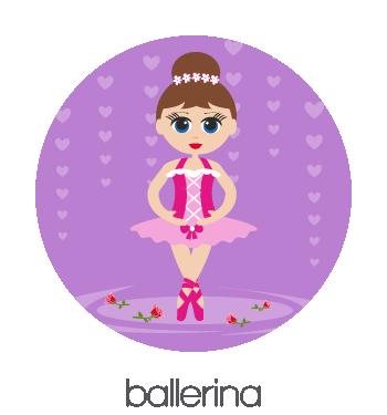 BobbleArt Ballerina Collection