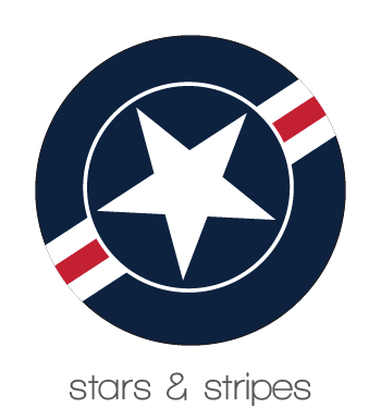 BobbleArt Stars & Stripes Collection