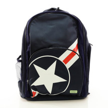 Bobble Art Stars & Stripes School Backpack