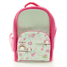 Bobble Art Owl Large School Backpack