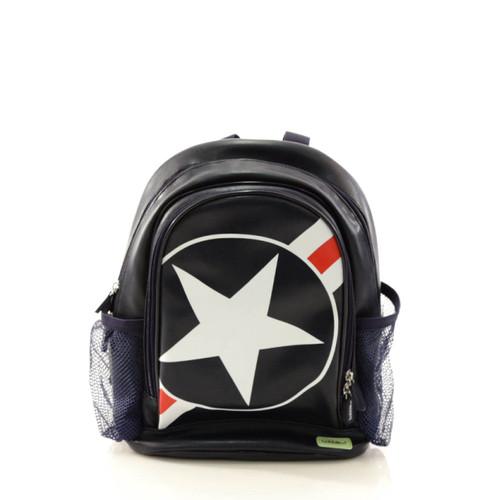 Bobble Art Stars & Stripes Small Poly Vinyl Backpack