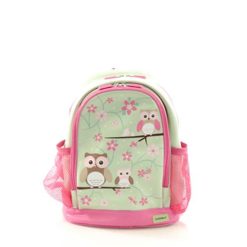 Bobble Art Owl Small Poly Vinyl Backpack