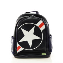 Bobble Art Stars & Stripes Large Poly Vinyl Backpack