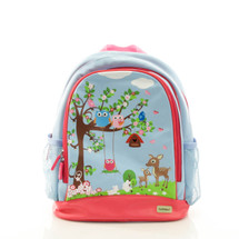 Bobble Art Woodland Large Poly Vinyl Backpack