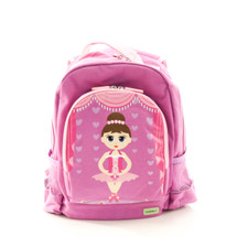 Bobble Art Ballerina Canvas Backpack