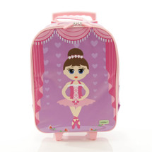 Bobble Art Ballerina Wheeled Suitcase