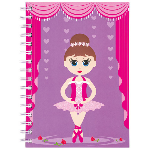 Notebook for Kids with Ballerina Print