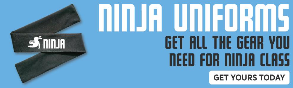 Buy your NinjaZone class uniform today!