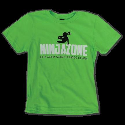 Neon Green Ninja Tee (front)