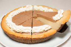 French Vanilla Cappuccino Cheesecake