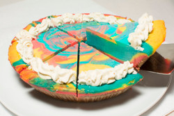 Superman Cheesecake