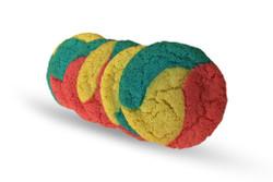 Superman Cheesecake Sugar Cookies