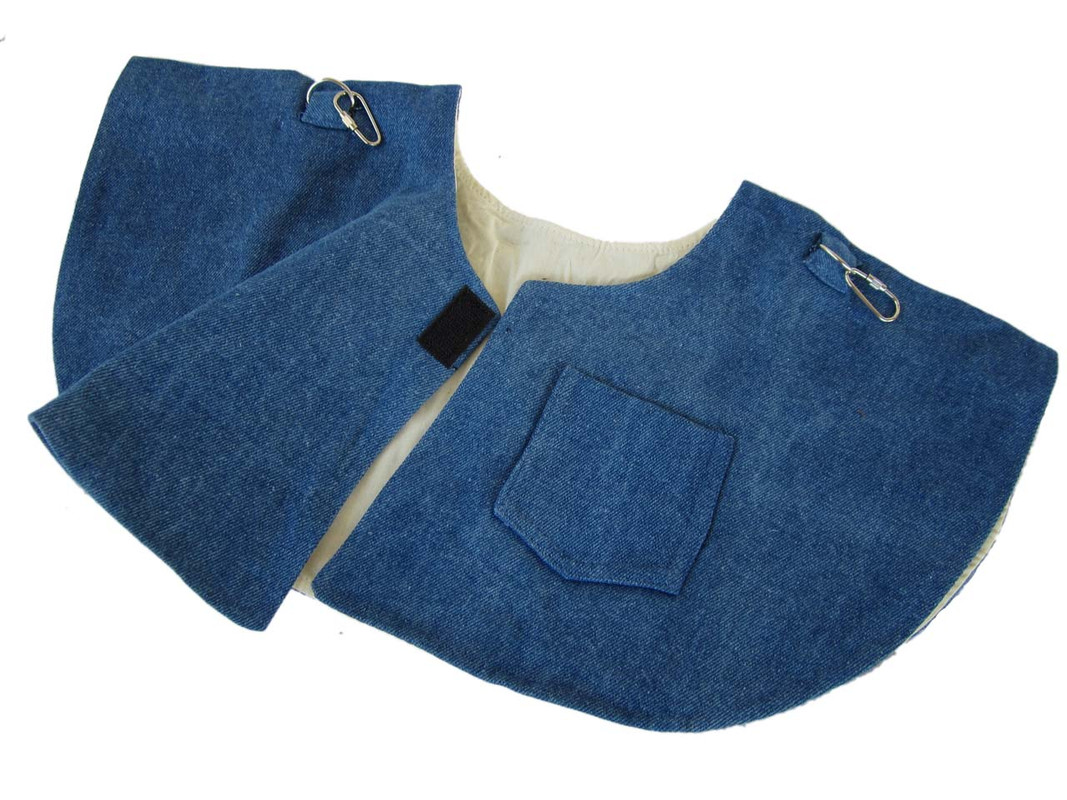 Shoulder Cape - Denim