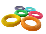 Wood Toss Rings