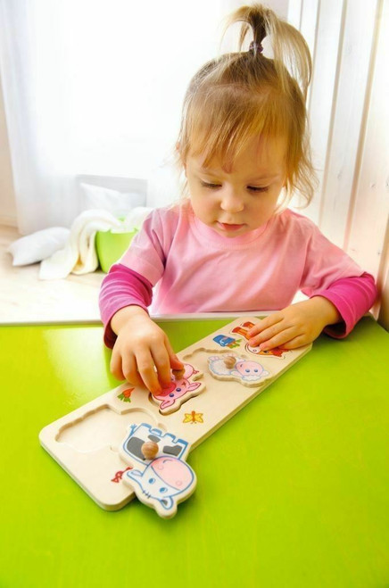 Baby Farm Animals Clutching Puzzle