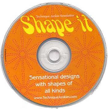 CD SI - Shape It CD