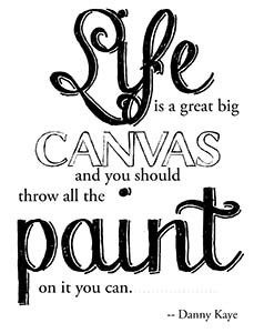 PD004 Life is a Canvas