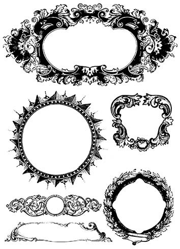 PS002 Frames Set 1 - Palettini