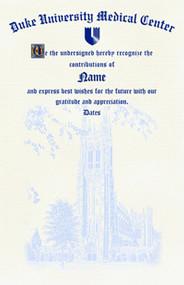 8.5x11 Certificate