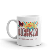 Durham Retro Coffee Mug