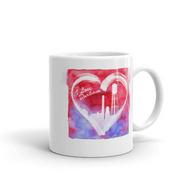 I Love Durham Coffee Mug