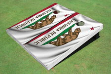 California State Flag Theme Cornhole Boards