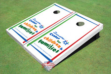 "Graphic Arnold Palmer ""Center For Children & Families"" Themed Cornhole Boards"