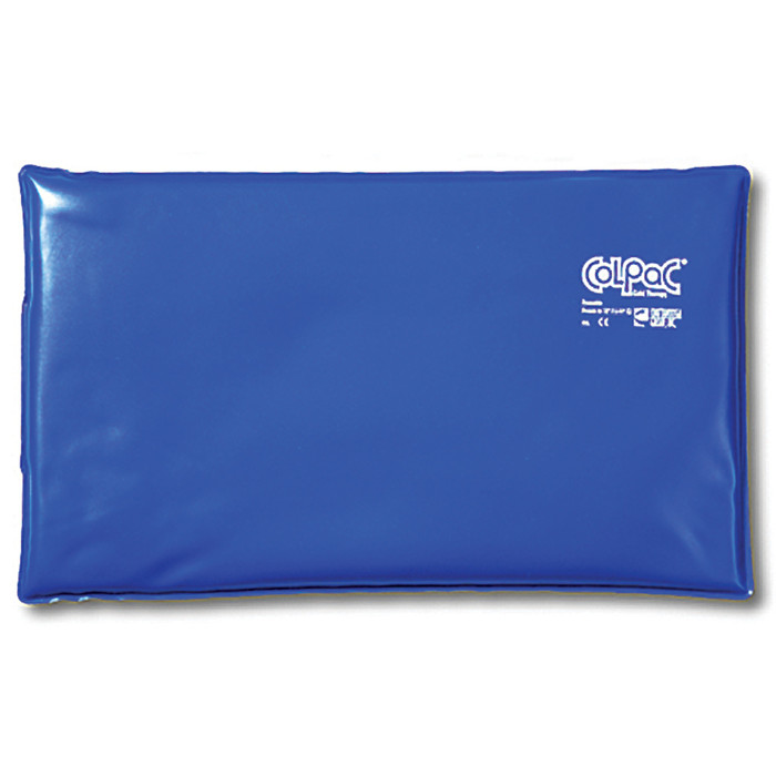 "BLUE VINYL COLPAC, OVERSIZED, 11"" X 21"""