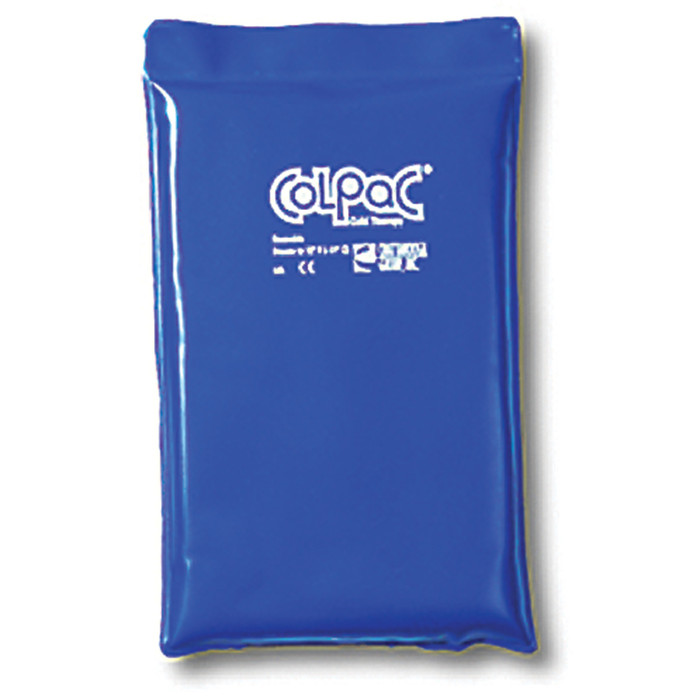 BLUE VINYL COLPAC COLD PACK, HALF SIZE, 7.5 X 11""