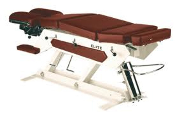 Elite Manual Pump Elevation Chiropractic Table