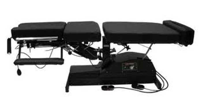 Leander 950 Chiropractic Table - Elevation