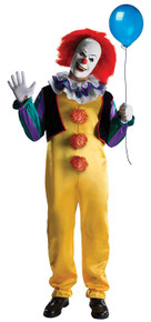 "Pennywise Licensed ""IT"" Movie Costume"