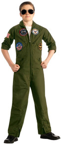 Top Gun Boy's Air Force Flight Suit