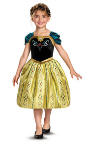 Anna Coronation Gown Kids Licensed Frozen Disney Princess Costume (76903)