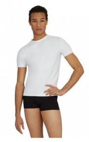 Men's Fitted Tactel Crew Neck Shirt