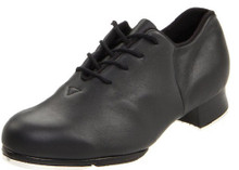Women's Black Tap Flex w/ Stevens Stompers Clogging Taps (S0387LBLK)