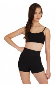 Capezio Adult Highwaisted Short