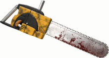 /leatherface-chainsaw-yellow-with-bloody-print/