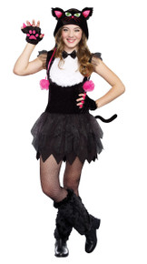 """Bad Kitty"" Teen Cat Dress"