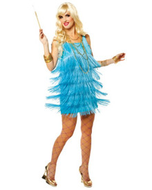 20's Flapper Fringe Party Dress (83001)