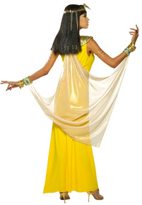 Goddess Cleopatra Yellow Egyptian Dress (81000)