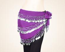240 Heavyweight Coin Sash Wrap Skirt