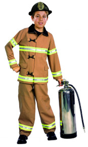 Firefighter Child Costume with Hat